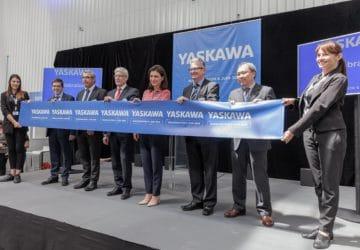YASKAWA FRANCE INAUGURE SON NOUVEAU SIÈGE SOCIAL