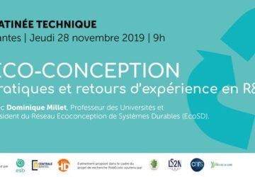 MATINÉE TECHNIQUE SUR L'ÉCO-CONCEPTION